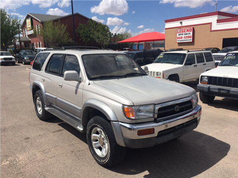1998 Toyota 4Runner for sale in El Paso, TX