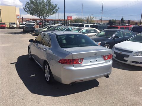 2004 Acura TSX for sale in El Paso, TX