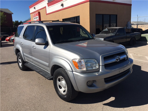 2005 Toyota Sequoia for sale in El Paso, TX