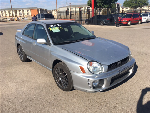 2002 Subaru Impreza for sale in El Paso, TX
