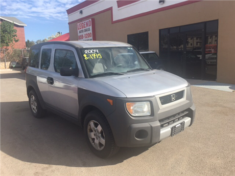 Cars For Sale In El Paso Tx >> Honda Element For Sale In El Paso Tx Carsforsale Com