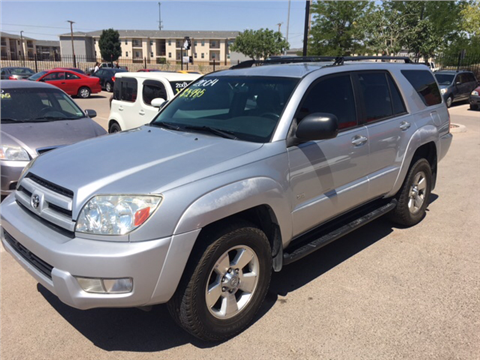 2004 Toyota 4Runner for sale in El Paso, TX