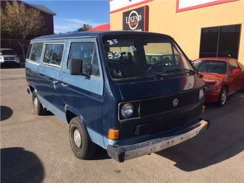 1983 Volkswagen Vanagon for sale in El Paso, TX