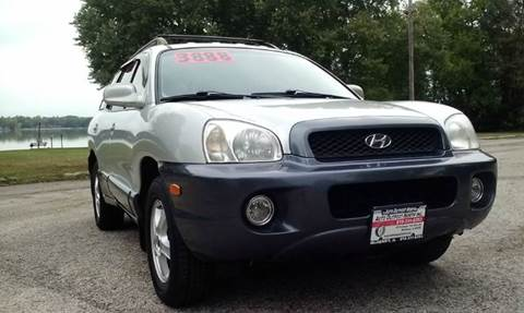 2001 Hyundai Santa Fe for sale in Mchenry, IL