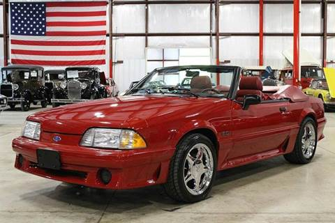 1989 Ford Mustang For Sale  Carsforsalecom
