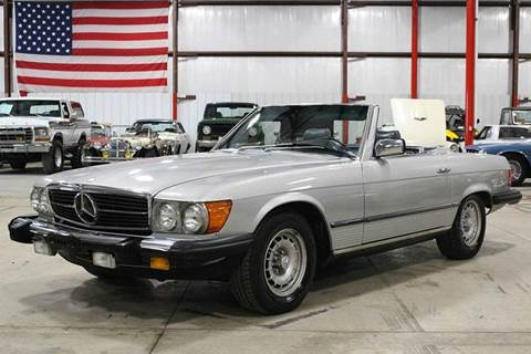 1984 mercedes benz 380 class for sale for Mercedes benz for sale in grand rapids mi