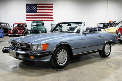 1987 mercedes benz 560 class for sale for Mercedes benz for sale in grand rapids mi