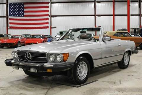 Mercedes benz 450 sl for sale for Mercedes benz grand rapids mi