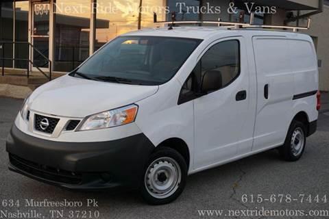 2013 nissan nv200 for sale for Next ride motors murfreesboro