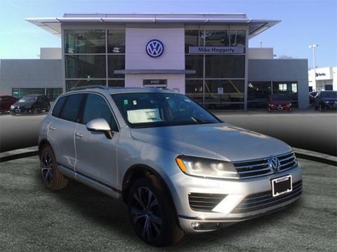 2017 Volkswagen Touareg for sale in Oak Lawn, IL