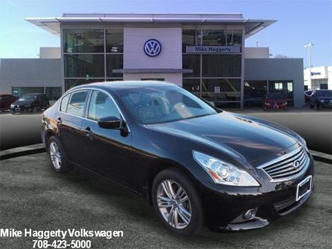 2013 Infiniti G37 Sedan for sale in Oak Lawn IL