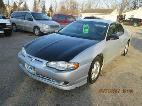 2001 Chevrolet Monte Carlo for sale in Hutchinson, MN