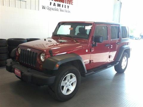 2012 Jeep Wrangler Unlimited for sale in Iowa City, IA