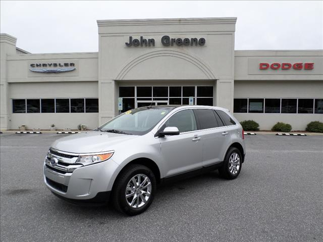 2012 FORD EDGE LIMITED silver ice metallic dont miss out on this like new one owner local trade