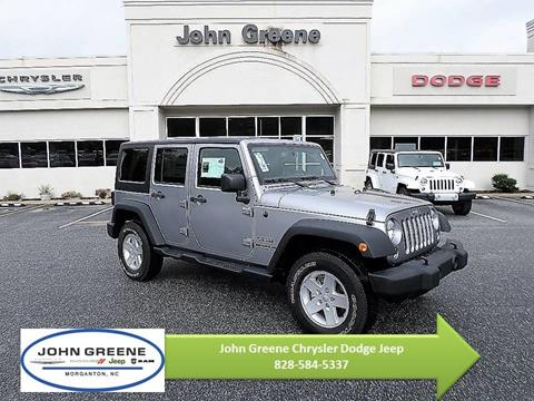 2017 Jeep Wrangler Unlimited for sale in Morganton, NC