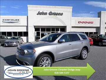 2015 Dodge Durango For Sale North Carolina Carsforsale