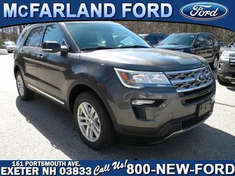 2018 Ford Explorer for sale in Exeter, NH