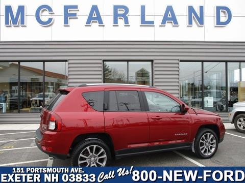 2016 Jeep Compass for sale in Exeter, NH