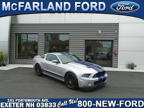 2014 Ford Shelby GT500 for sale in Exeter, NH