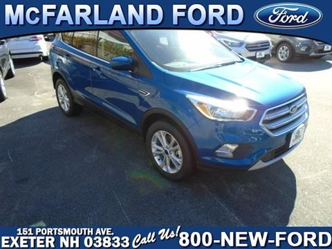 2017 Ford Escape for sale in Exeter, NH