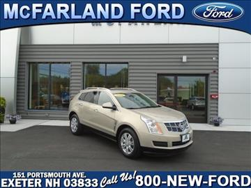 2010 Cadillac SRX for sale in Exeter, NH