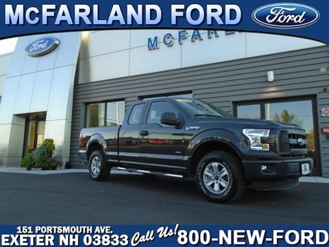 2016 Ford F-150 for sale in Exeter, NH