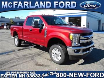 2017 Ford F-250 Super Duty for sale in Exeter, NH