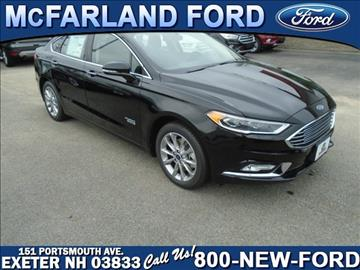 2017 Ford Fusion Energi for sale in Exeter, NH