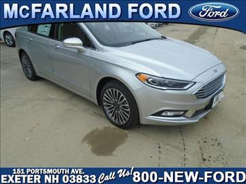 2017 Ford Fusion for sale in Exeter, NH