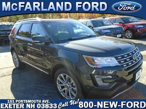 2017 Ford Explorer for sale in Exeter, NH