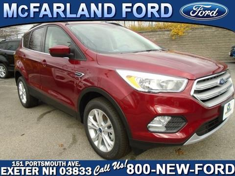 2018 Ford Escape for sale in Exeter, NH