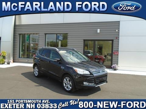 2014 Ford Escape for sale in Exeter, NH