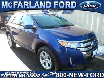 2014 Ford Edge for sale in Exeter, NH