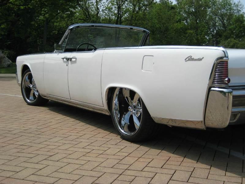 1965 Lincoln Continental CONVERTIBLE - Geneva IL