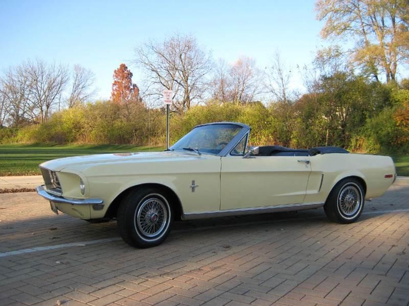 1968 Ford Mustang CONVERTIBLE - Geneva IL