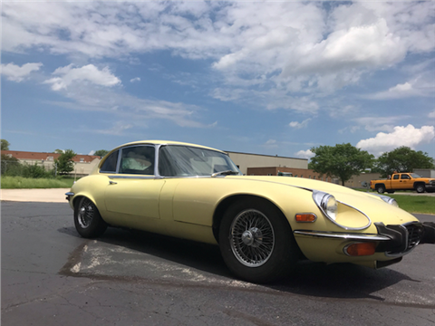 1973 Jaguar E Type For Sale In Geneva, IL