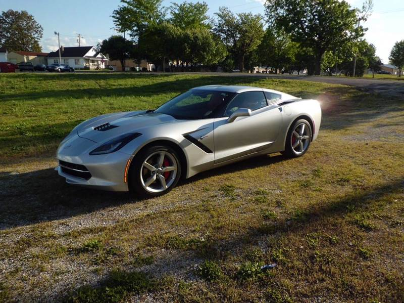 2014 Chevrolet Corvette Stingray 2dr Coupe w/1LT - East Alton IL