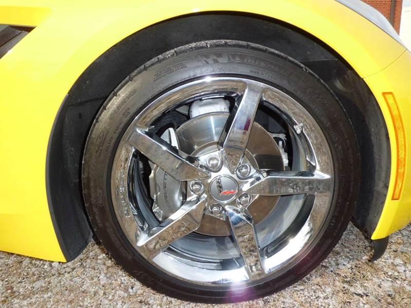 2015 Chevrolet Corvette Stingray 2dr Coupe w/3LT - East Alton IL