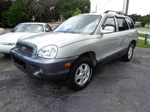2003 Hyundai Santa Fe for sale in Bradenton FL