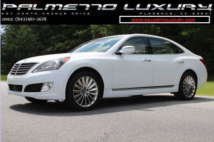 2014 Hyundai Equus for sale in Florence, SC