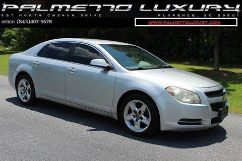 2010 Chevrolet Malibu for sale in Florence, SC