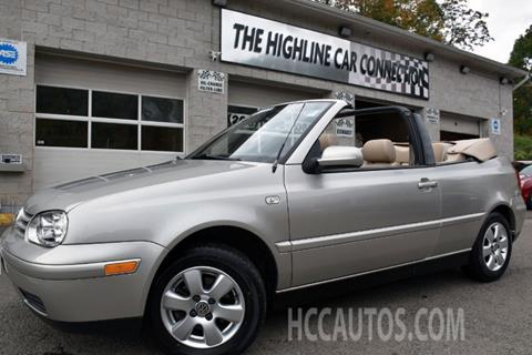 2001 Volkswagen Cabrio for sale in Waterbury, CT
