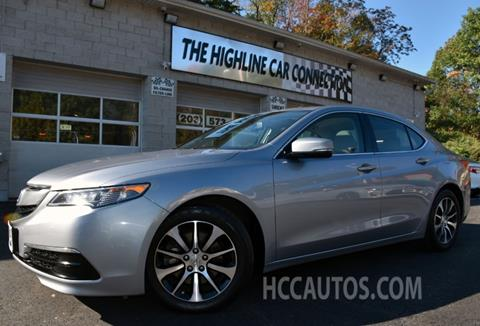 2015 Acura TLX for sale in Waterbury, CT