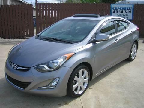 2013 Hyundai Elantra for sale in Berea, OH