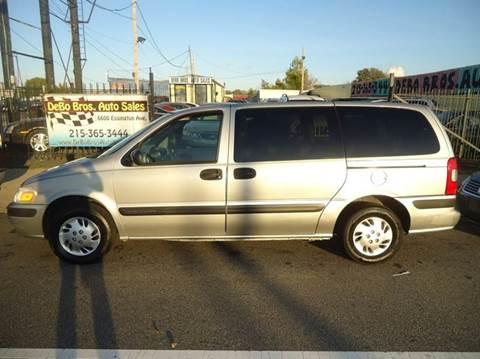 2005 Chevrolet Venture for sale in Philadelphia, PA