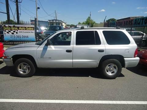 1999 Dodge Durango for sale in Philadelphia, PA