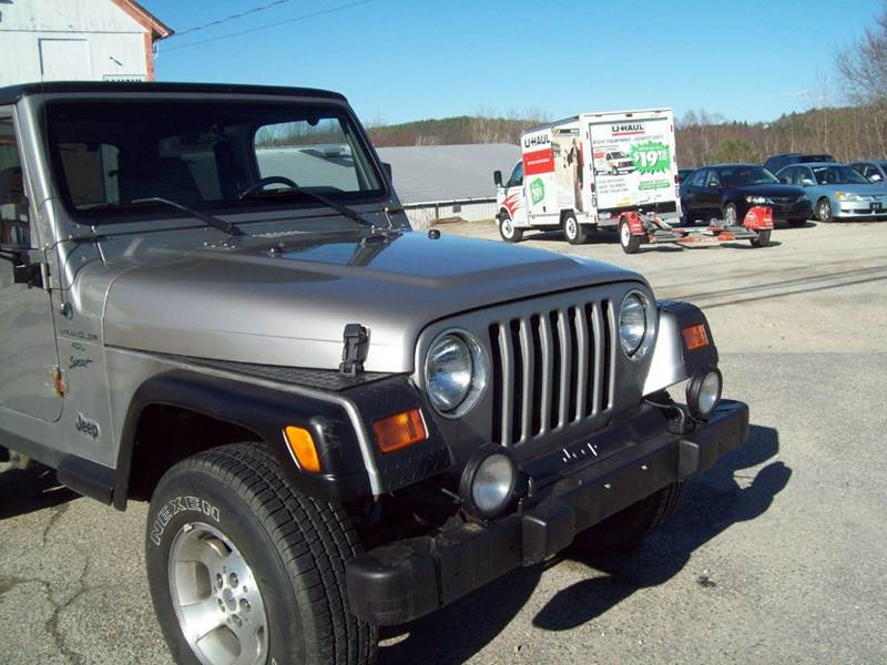2001 Jeep Wrangler Sport 4WD 2dr SUV - Milford NH