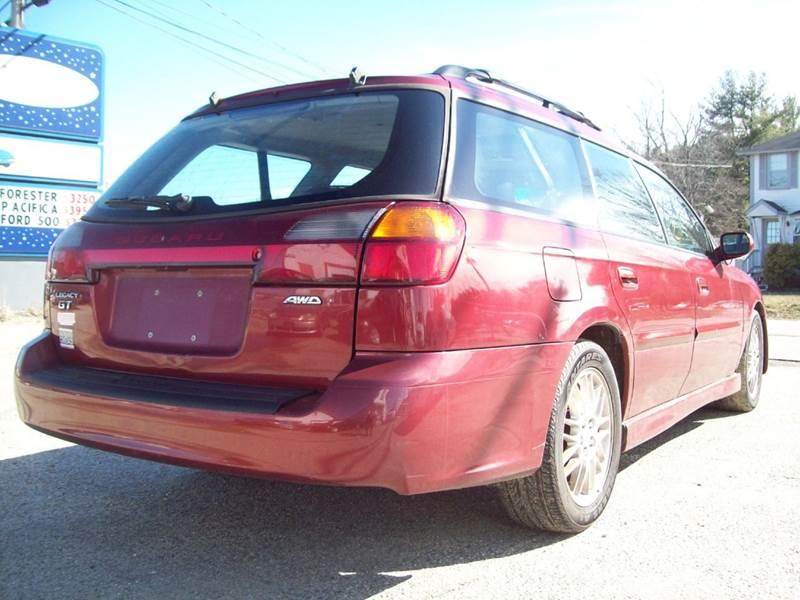 2002 Subaru Legacy AWD GT 4dr Wagon - Milford NH