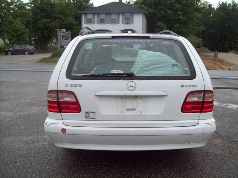 2001 Mercedes-Benz E-Class E320 4MATIC AWD 4dr Wagon - Milford NH