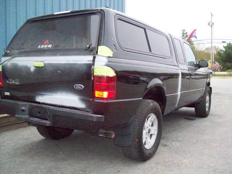 2004 Ford Ranger 2dr SuperCab XLT 4WD SB - Milford NH